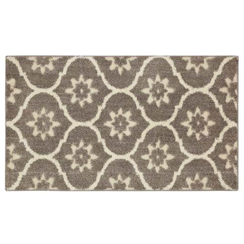 Mohawk Home Gray Tiles Gray Rectangular: 2 Ft. 1-Inch x 3 Ft. 8-Inch Rug