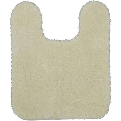 Ivory Rectangular: 1 Ft. 8 In. x 2 Ft. Bath Rug