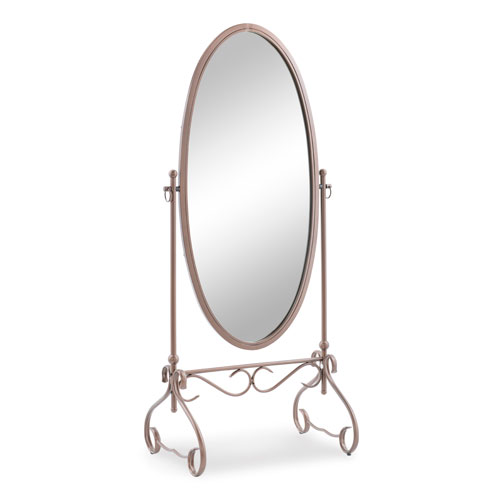 Clarisse Antique Brown Cheval Mirror
