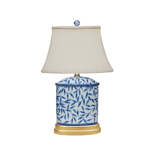 Porcelain Ware Blue and White 20-Inch One-Light Table Lamp