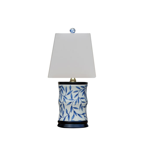 Porcelain Ware Blue and White 15-Inch One-Light Table Lamp
