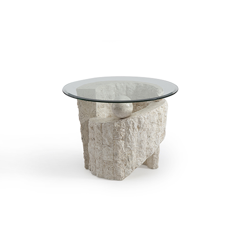 Magnussen Home Ponte Vedra Round End Table