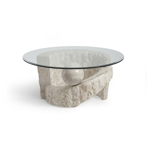 Magnussen Home Ponte Vedra Round Cocktail Table