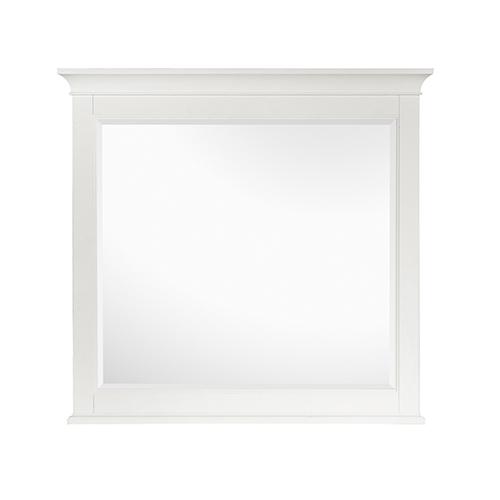 Kentwood White Framed Landscape Mirror