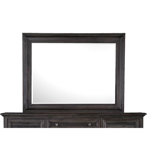 Calistoga Mirror in Weathered Charcoal