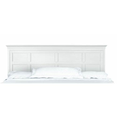 Kentwood White King Panel Headboard Only