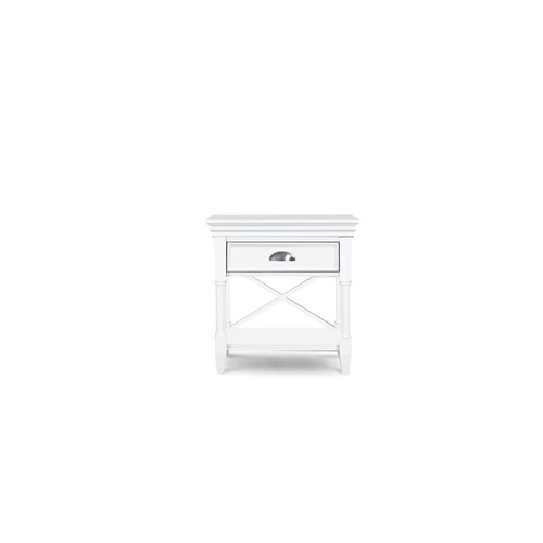 Magnussen Home Kasey Wood Open Nightstand