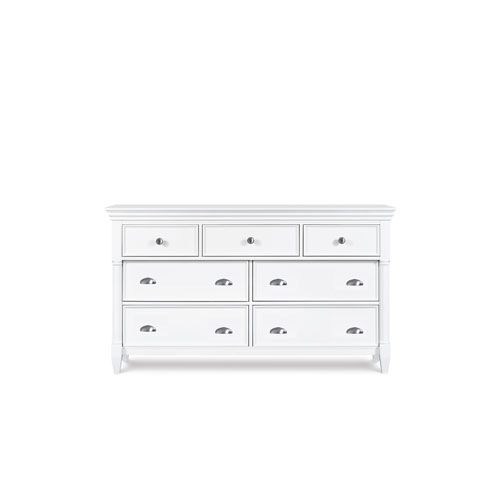 Magnussen Home Kasey Wood Seven Drawer Dresser