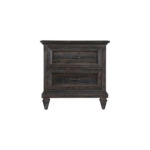 Calistoga Nightstand in Weathered Charcoal
