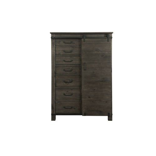 Abington Door Chest in Weathered Charcoal