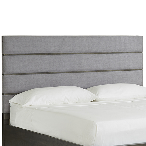 Magnussen Home Proximity Heights Contemporary Queen Bed Upholstered Headboard