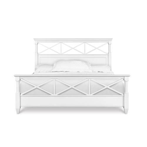 Kasey Wood King Panel Bed