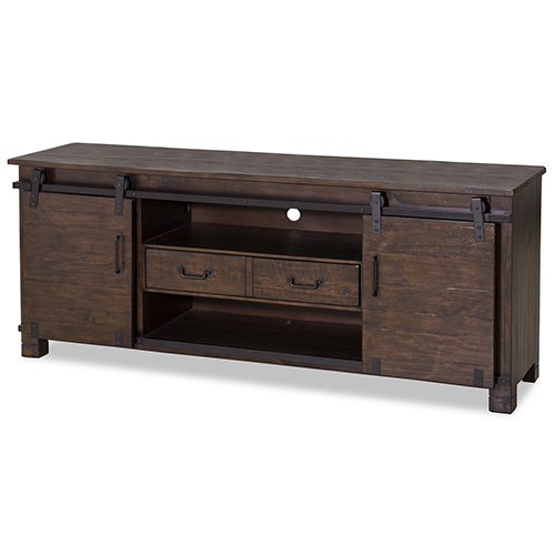 Magnussen Home Pine Hill Console in Rustic Pine