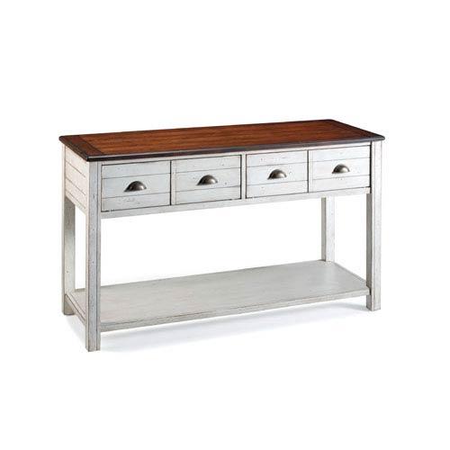 Bellhaven Alabaster Sofa Table