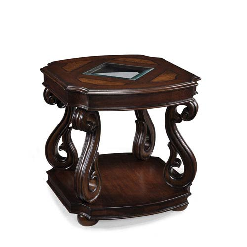 Harcourt Cherry Rectangular End Table