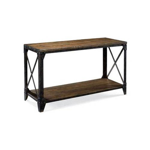 Magnussen Home Pinebrook Natural Pine Rectangular Sofa Table