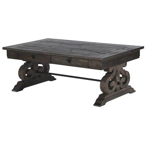 Bellamy Rectangular Sofa Table in Weathered Pine