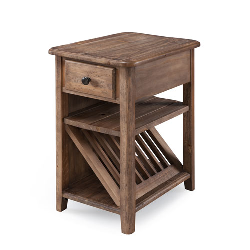 Magnussen Home Baytowne Chairside End Table