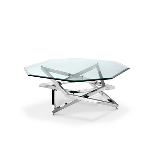 Magnussen Home Lenox Square Octagonal Cocktail Table