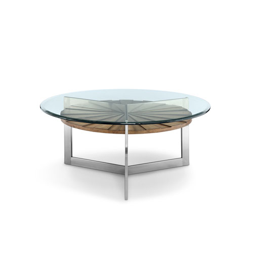 Magnussen Home Rialto Round Cocktail Table