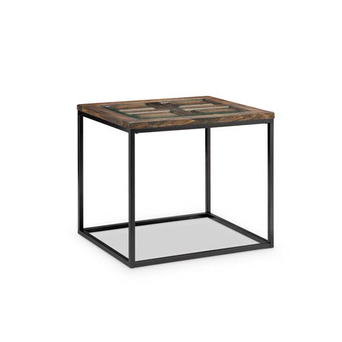 Magnussen Home Rochester Rectangular End Table in Burnished Brown