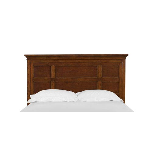 Riley Cherry Full Panel Headboard Only