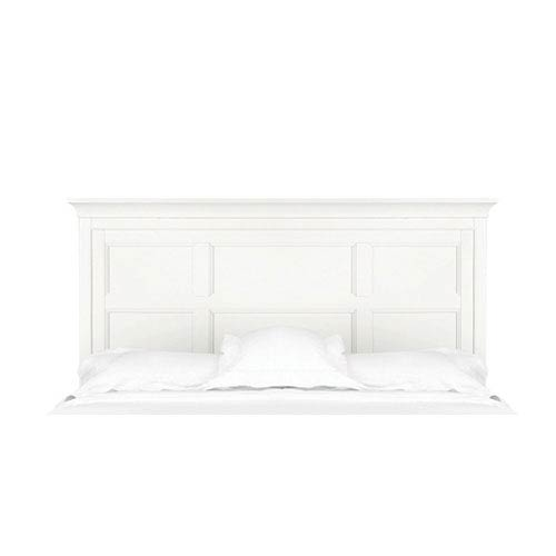 Kenley White Twin Panel Bed Headboard Only