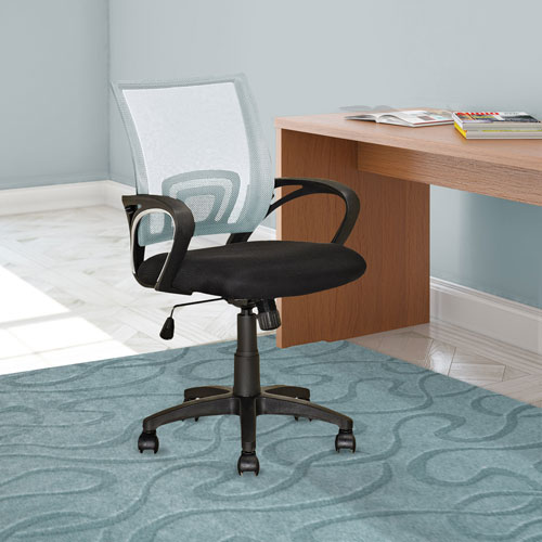 CorLiving Workspace White Mesh Back Office Chair