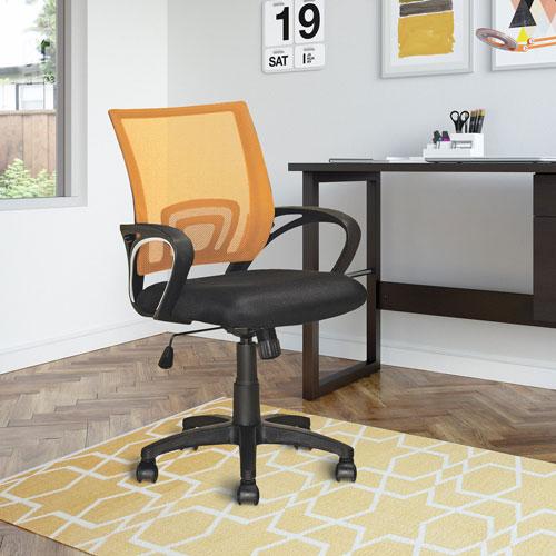 Workspace Orange Mesh Back Office Chair