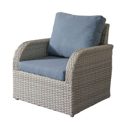 Weather Resistant Resin Wicker Patio Chair