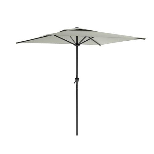 Square Patio Umbrella in Sand Grey