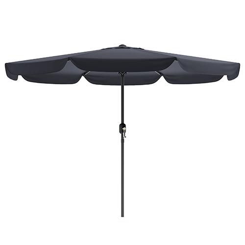 Black Outdoor Patio Umbrella