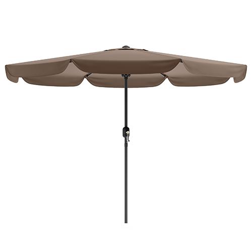 Sandy Brown Outdoor Patio Umbrella