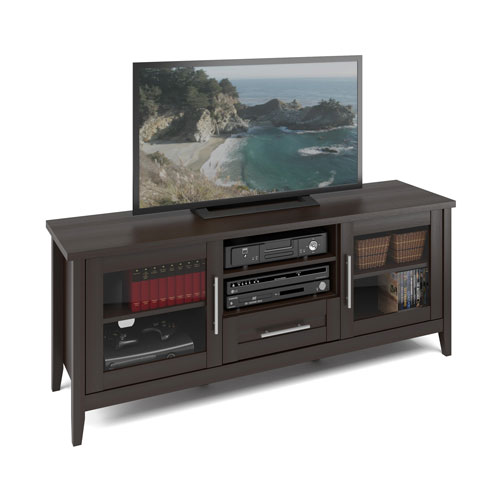 Jackson TV Bench in Espresso Finish