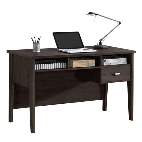 Folio Black Espresso Single Drawer Desk
