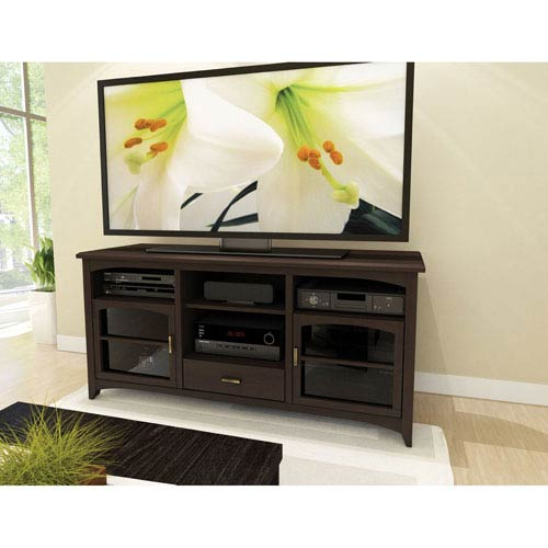 Sonax West Lake Dark Espresso 60 Inch Tv Component Bench B 094 Ppt