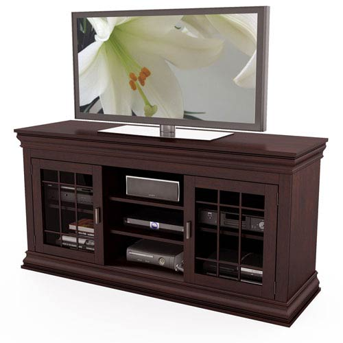 Carson Wood Veneer 60-Inch TV / Component Bench