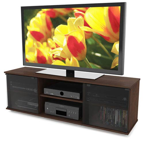 Fiji Brown 60-Inch TV / Component Bench