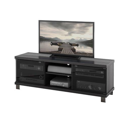 Sonax Holland Ravenwood Black 59-Inch TV / Component Bench