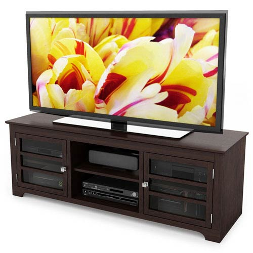 Sonax West Lake Dark Espresso 60-Inch TV / Component Bench