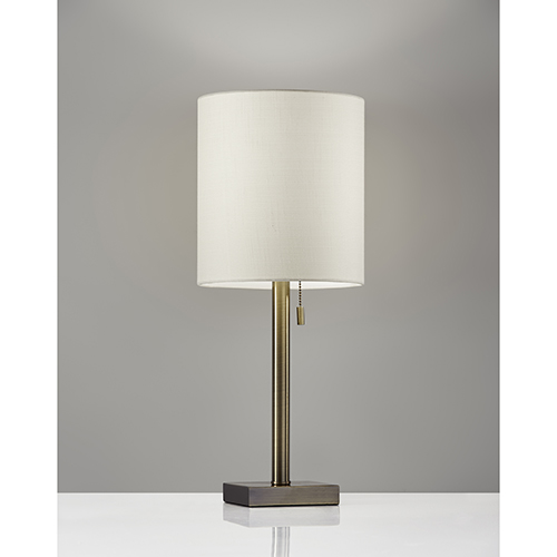 Liam Antique Brass One-Light Table Lamp