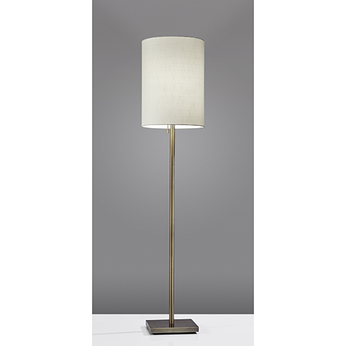 Liam Antique Brass One-Light Floor Lamp