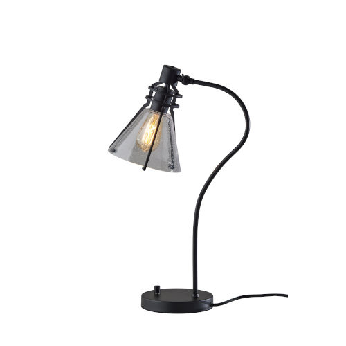 Beckett Black One-Light Desk Lamp