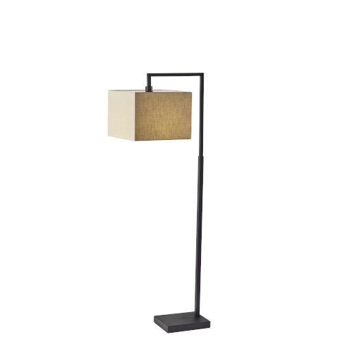 Richard Black One-Light Floor Lamp