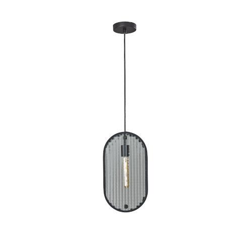 Landon Black One-Light Mini-Pendant