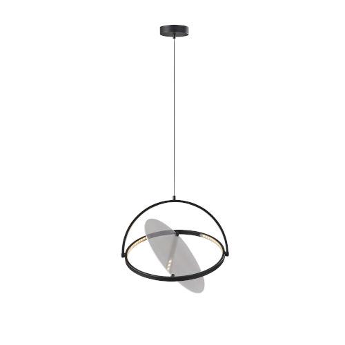 Orsa Black LED Pendant