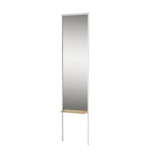 Monty White and Natural Leaning Mirror
