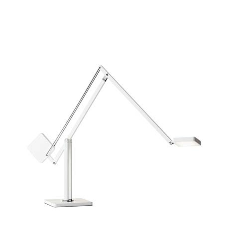 Cooper White LED Desk Lamp