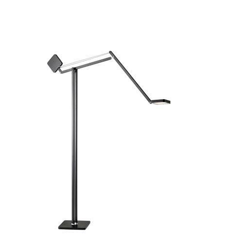 Ads360 Cooper Black Led Floor Lamp