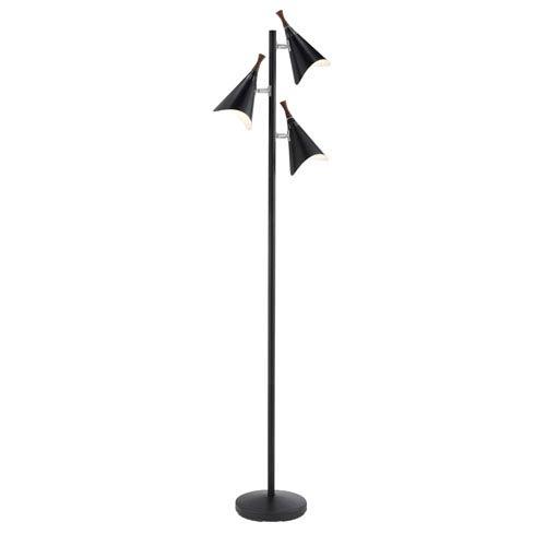 Draper Black Adjustable Tree Lamp
